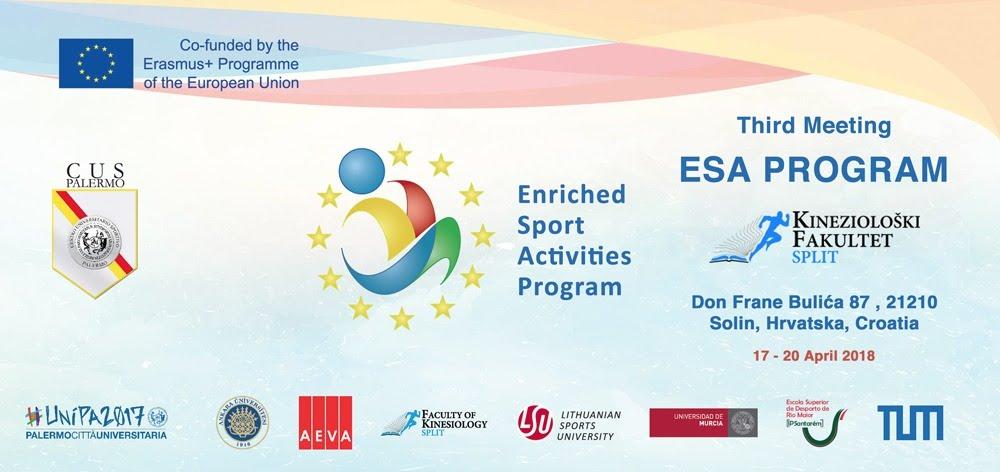 Esa program – III. Transnational meeting in Croatia